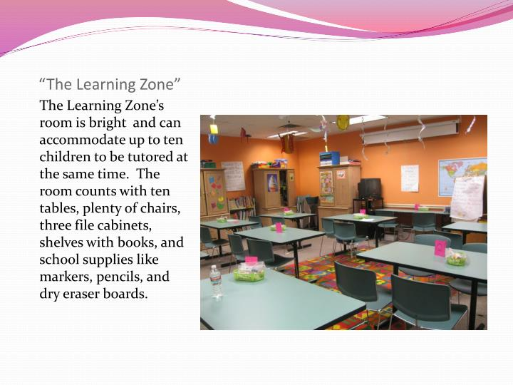 The learning zone