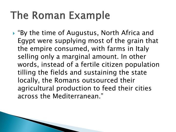 The Roman Example