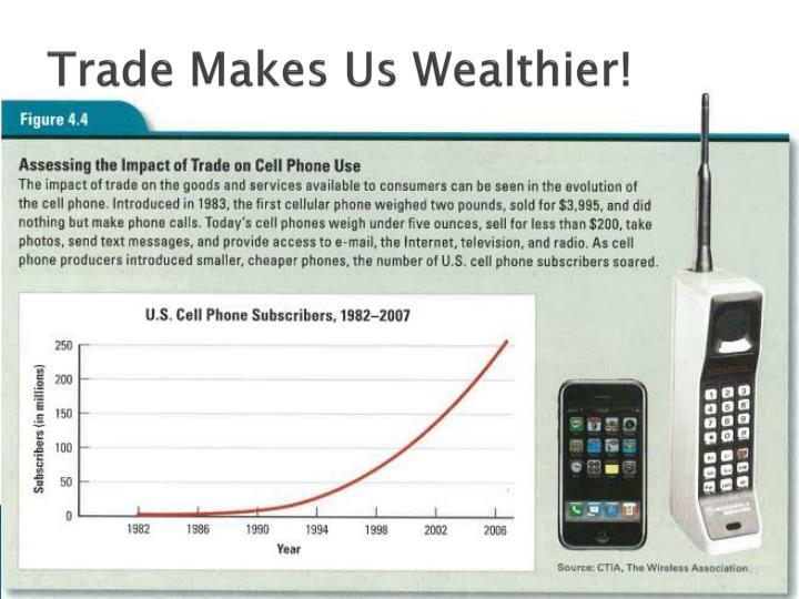 Trade Makes Us Wealthier!