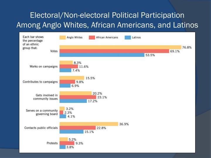 Electoral/Non-electoral Political Participation