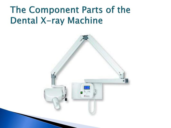 The Component Parts of the Dental X-ray Machine