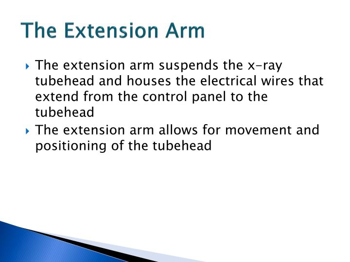 The Extension Arm