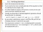 11 1 verifying identities