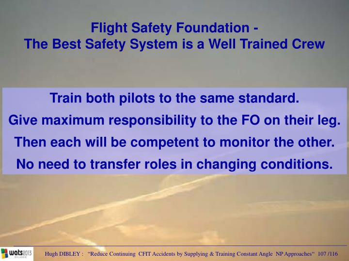 Flight Safety Foundation -