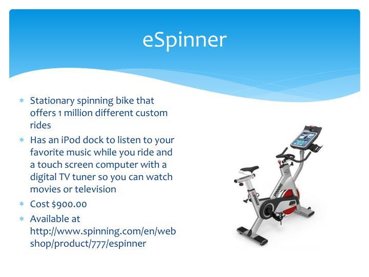 eSpinner