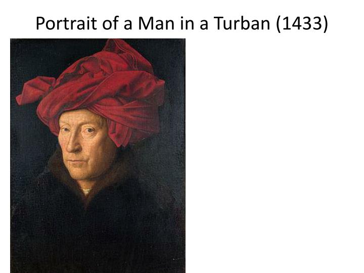 Portrait of a man in a turban 1433