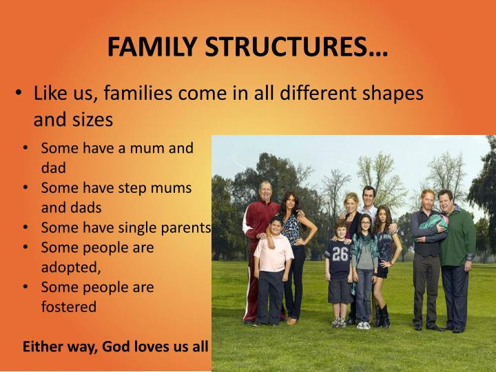 FAMILY STRUCTURES…