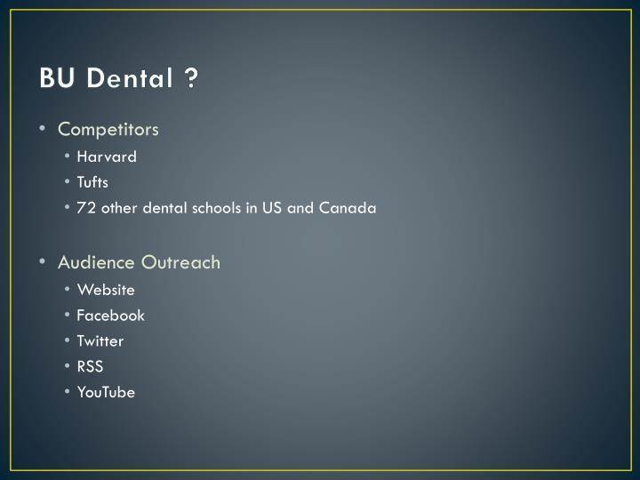 BU Dental ?