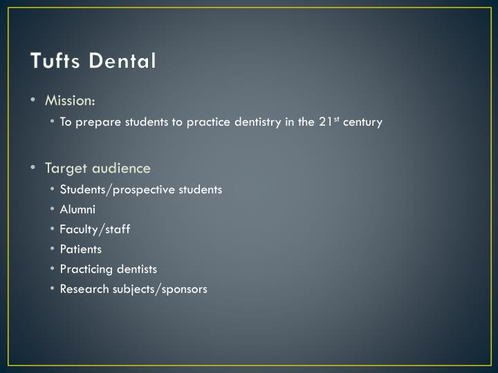 Tufts Dental