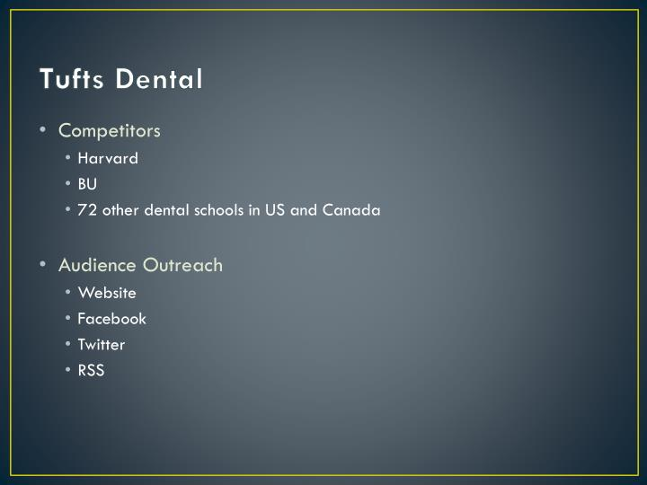 Tufts Dental