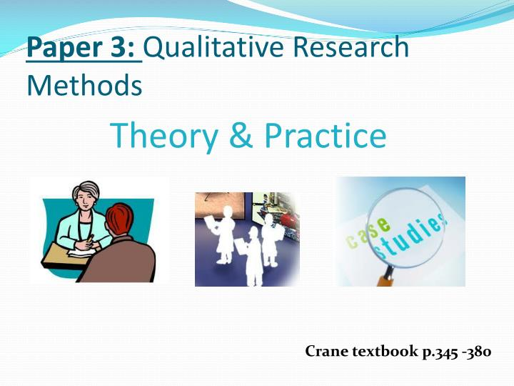 qualitative research paper sections