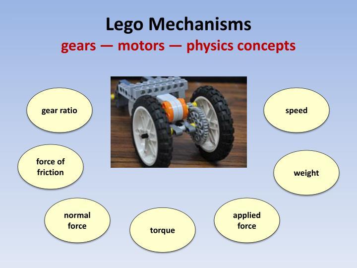Lego Mechanisms