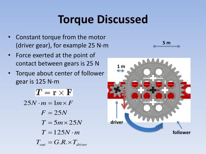 Torque Discussed