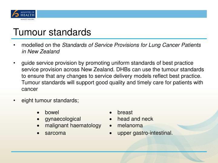 Tumour standards