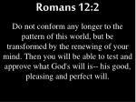romans 12 2