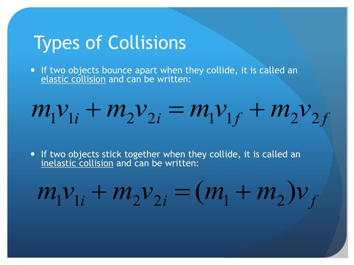 Types of Collisions