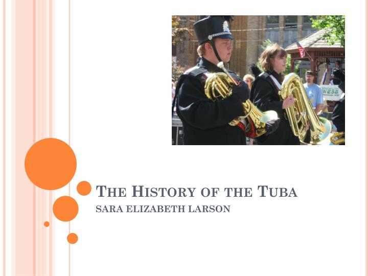 The History of the Tuba