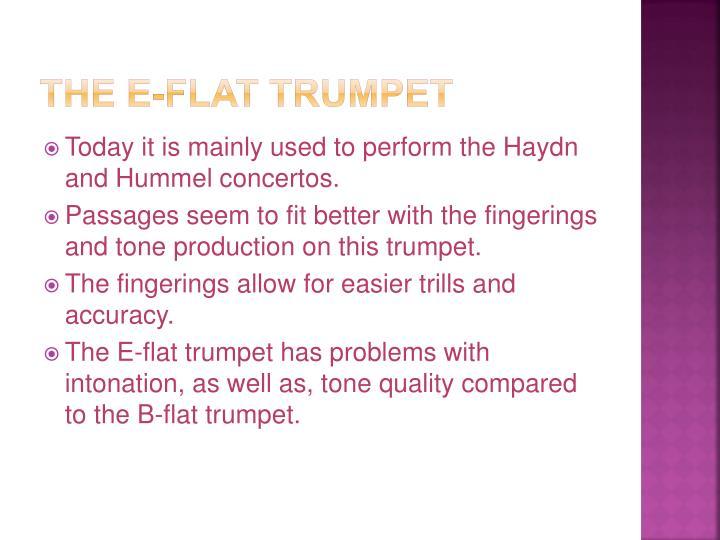 The E-flat Trumpet