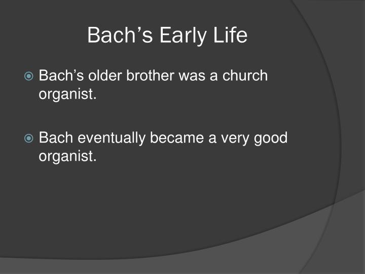 Bach's