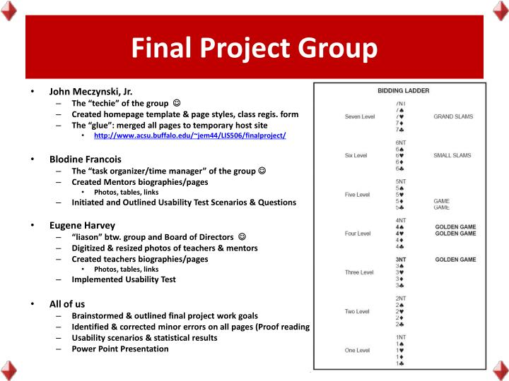 Final Project Group