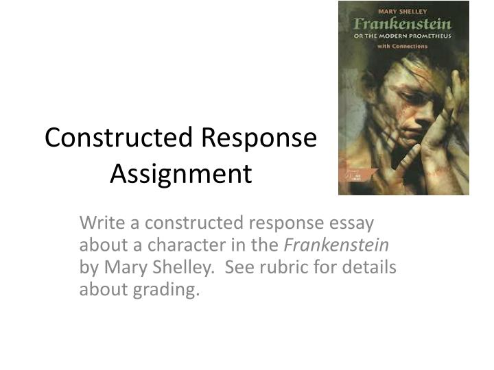 frankstein essay Research paper topics on frankenstein by mary shelley frankenstein essays & research paper topics intro paragraph recommended for each topical site mary shelley.