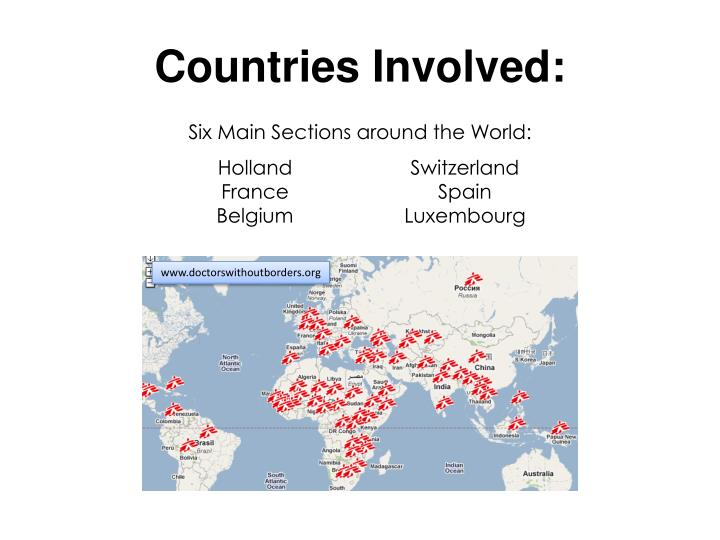 Countries Involved: