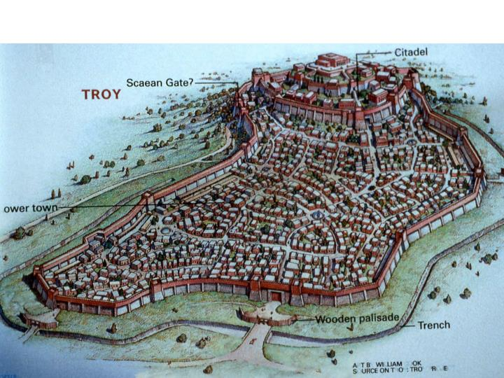 City of Troy based on Korfmann's work
