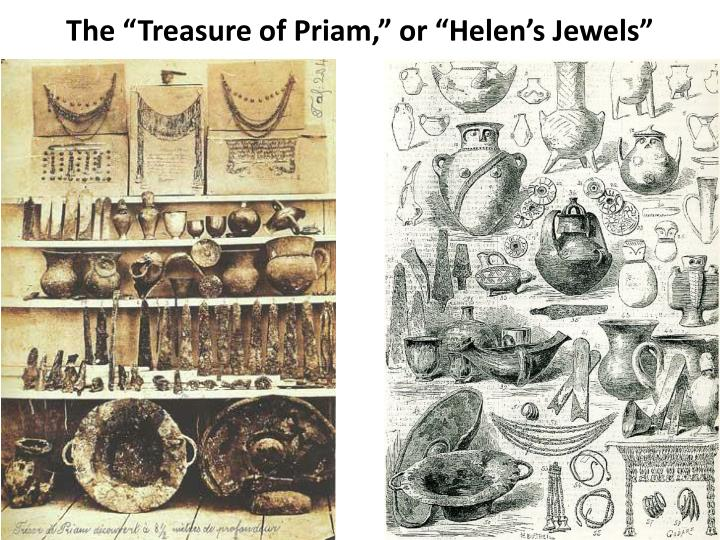 "The ""Treasure of Priam,"" or ""Helen's Jewels"""