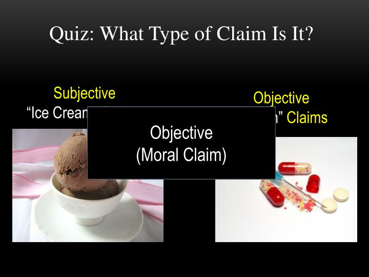 Quiz: What Type of Claim Is It?