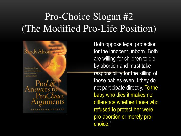 Pro-Choice Slogan #2