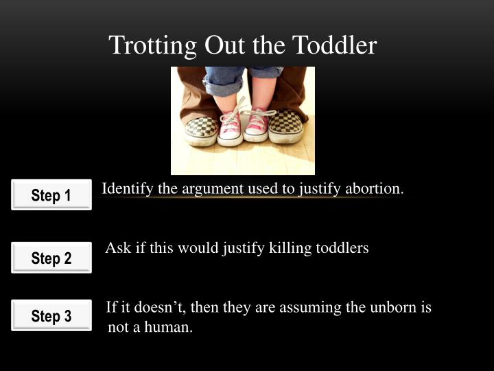 Trotting Out the Toddler