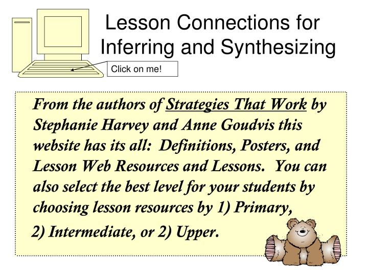 Lesson Connections for