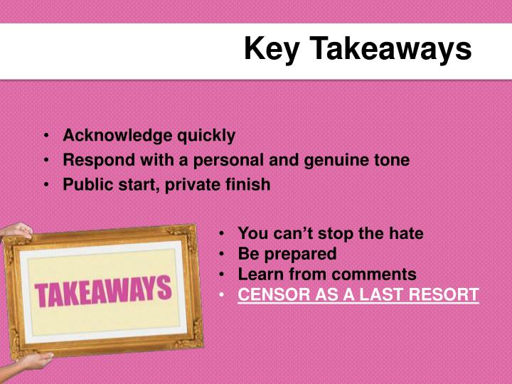 Key Takeaways