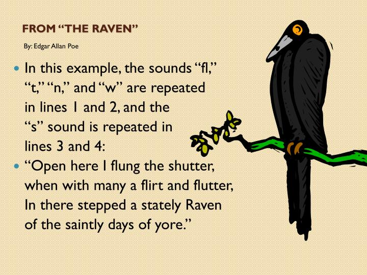 "From ""The Raven"""