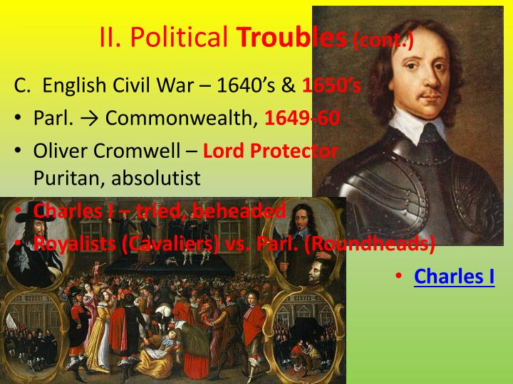 II. Political