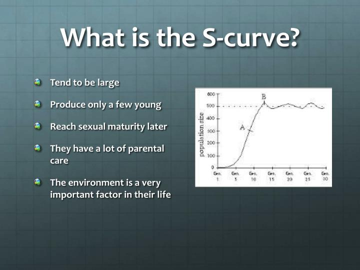 What is the S-curve?