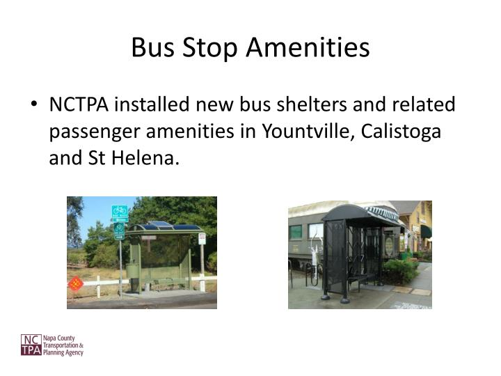 Bus Stop Amenities