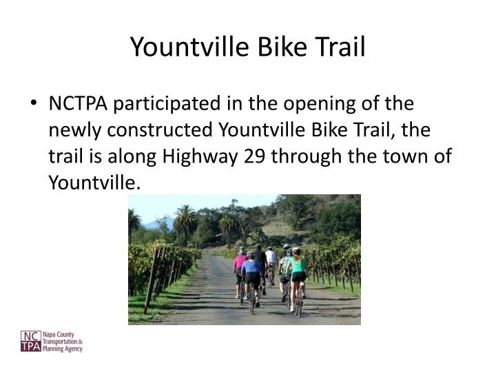 Yountville Bike Trail