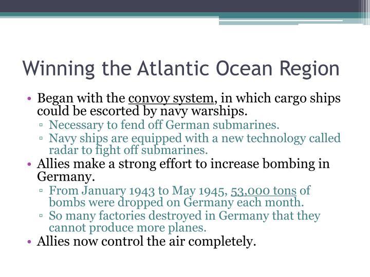 Winning the Atlantic Ocean Region