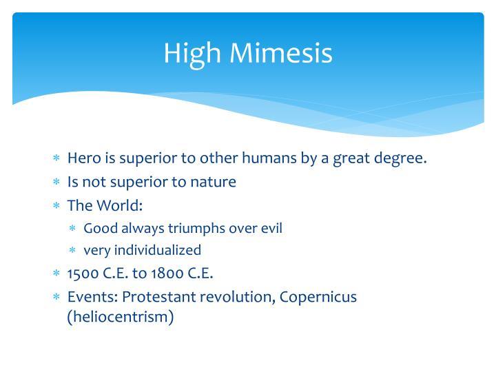 High Mimesis