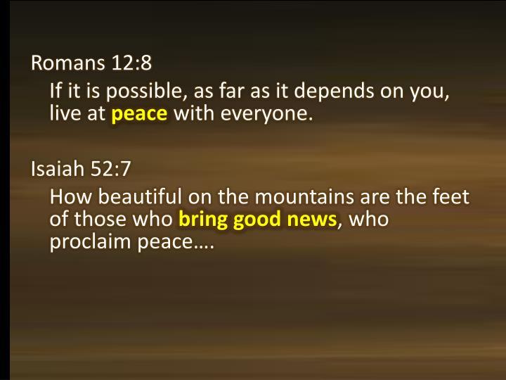 Romans 12:8