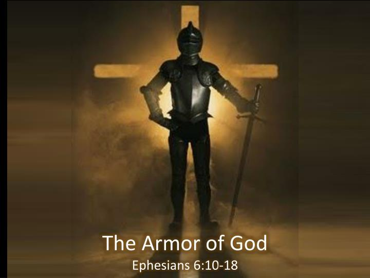 The armor of god ephesians 6 10 18