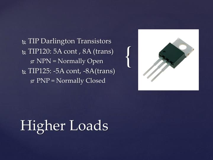 TIP Darlington Transistors
