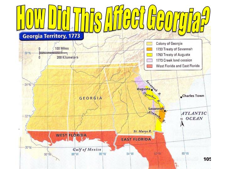 How Did This Affect Georgia?