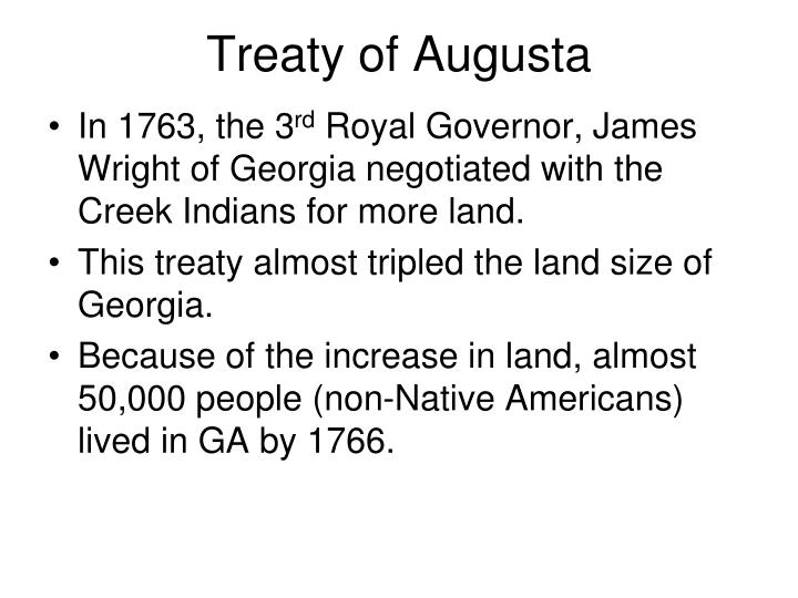 Treaty of Augusta