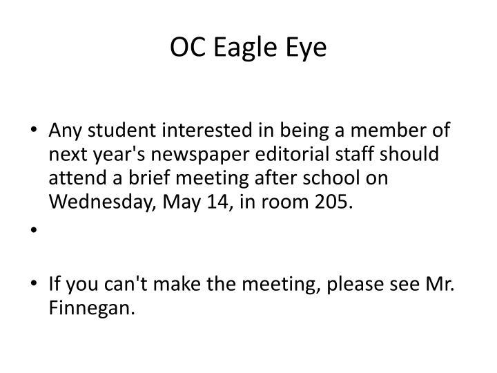 OC Eagle Eye