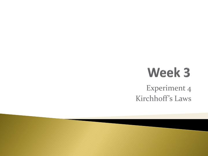 week 1 ppt Just walk across the room four week experience week 1 : the single greatest gift message 1 introduction (ppt slide 1 /just walk across the room campaign graphic, week 1).