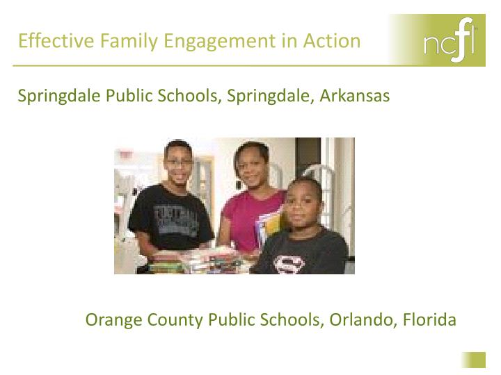 Effective Family Engagement in Action