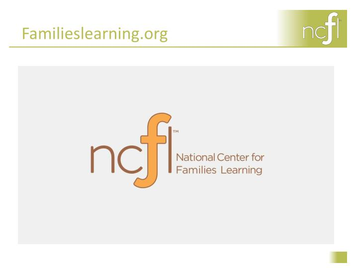 Familieslearning org