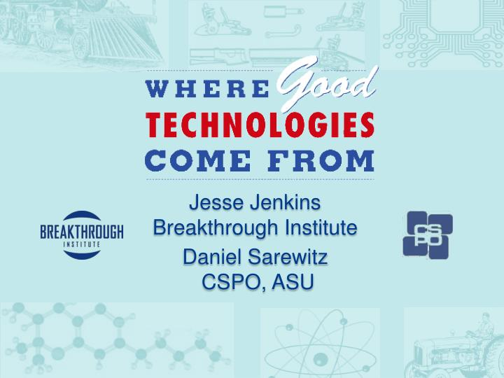 Jesse Jenkins